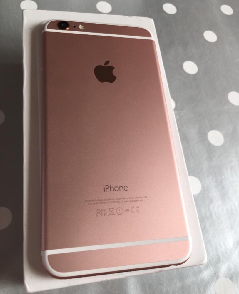Cheap Iphone 6s Plus Rose Gold 32gb For Sale Paperclip