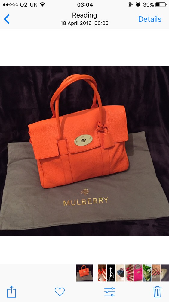 651eb084dc 1/1 Large Mulberry Bayswater in Orange Mandarin Tangerine for £500 plus  Postage and packaging for £10 This bag was a gift, hardly used, looks very  new, ...