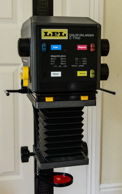 1 2 LPL C770 Colour Head Enlarger