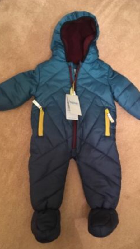 8d3c7adbc Cheap Brand New Ted Baker Snowsuit 3-6 Months for sale . Paperclip