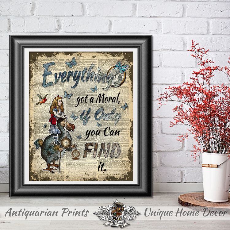 Cheap Home Decor Alice In Wonderland, Wall Hangings For