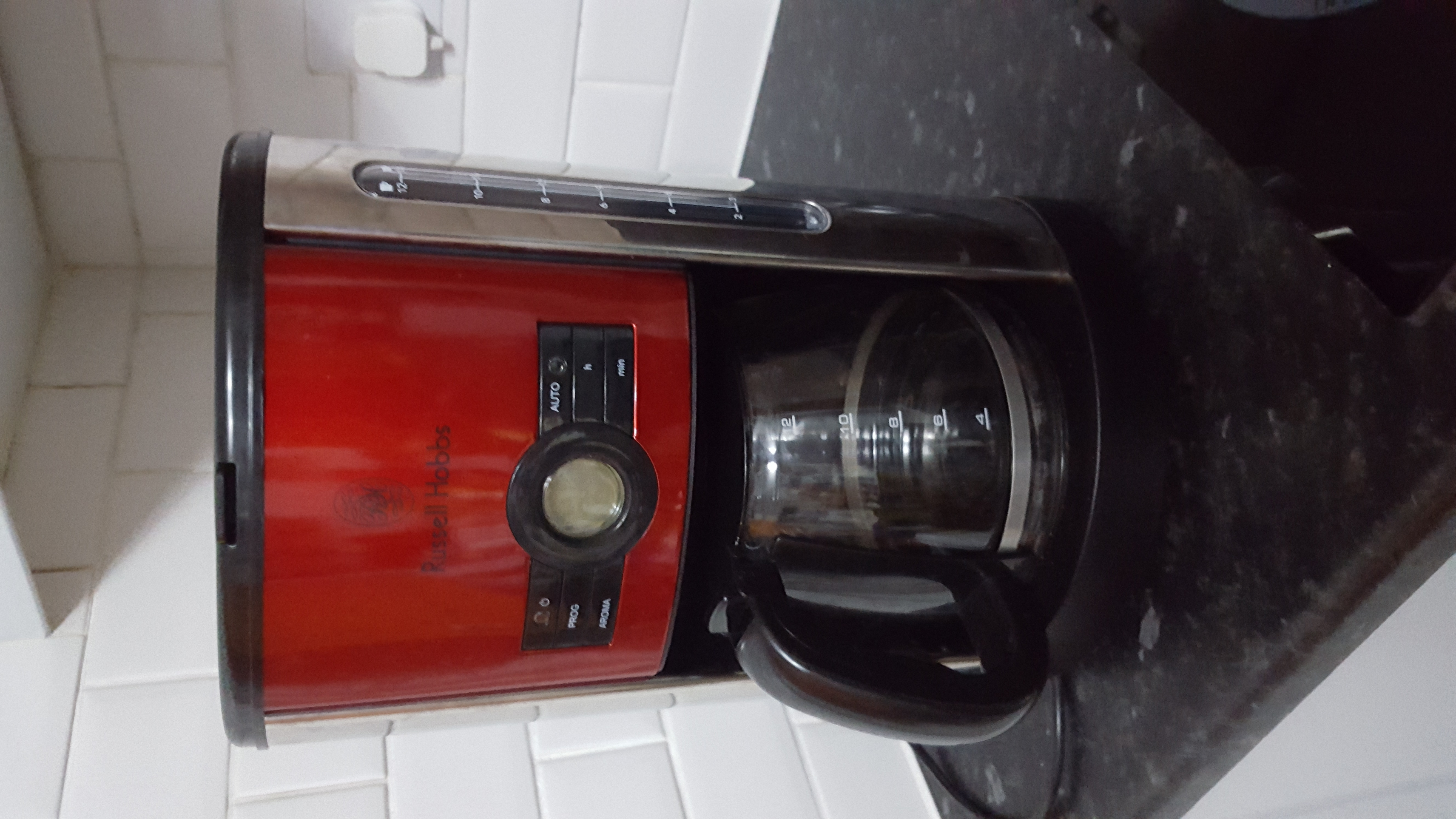 Cheap Russell Hobbs Heritage Coffee Maker Red for sale ...