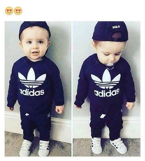 Cheap Baby s genuine Adidas tracksuits any size for sale . Paperclip 058098668399