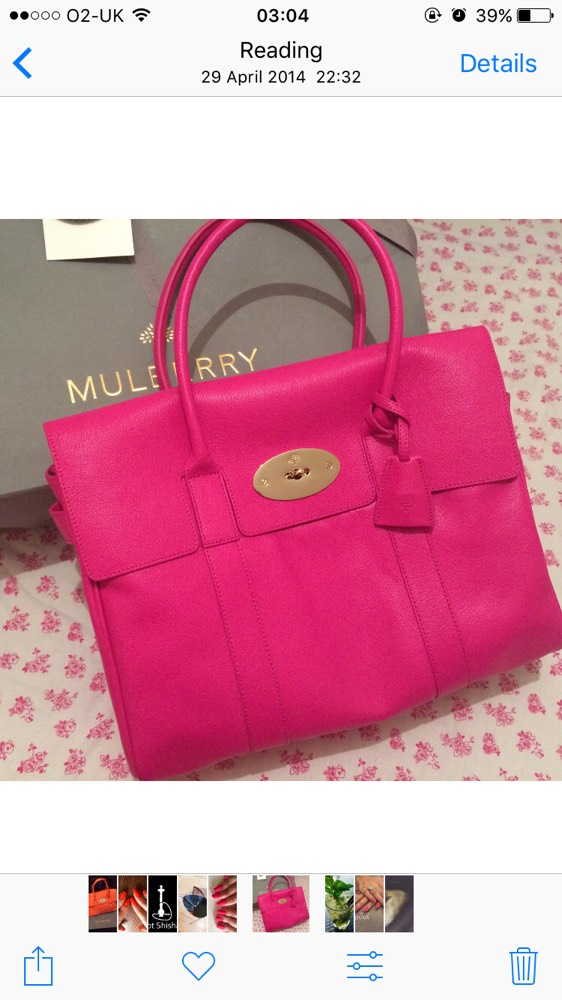 daa7236a07 1/1 Large Mulberry Bayswater in HOT Pink for £500 plus Postage and  packaging for £10 This bag was a gift, hardly used, looks very new, ...
