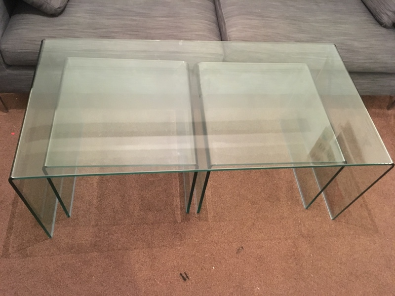 Dwell Coffee Table.Cheap Dwell Puro Glass Coffee Table Set For Sale Paperclip