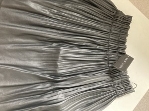 New look faux leather plated skirt uk10