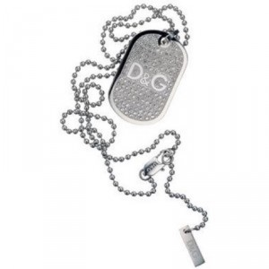 D&G Dog Tag necklace