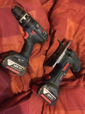 Bosch drill and jigsaw good condition and work well £120 for both collection only