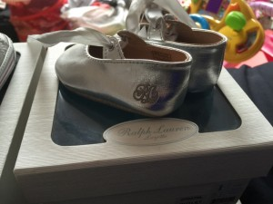 Ralph Lauren baby crib shoes