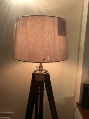 Brand new S&b hand made tall lamp