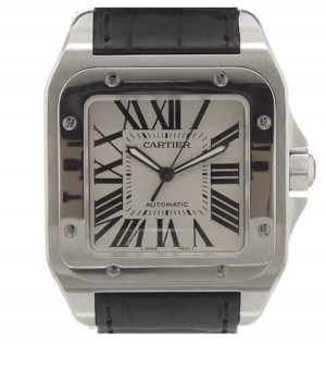 Cartier Santos 100 XL 2014 Box and Papers