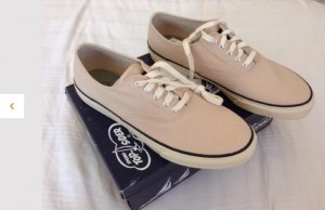 SPERRY Mens Shoes - Canvas Sneaker (Latest Style)