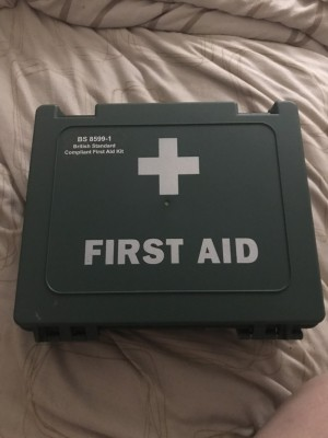 British standard first aid kit