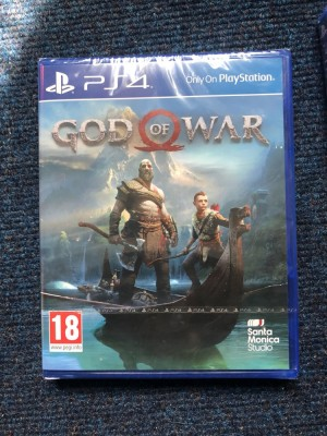 GOD OF WAR PS4 BRAND NEW AND SEALED