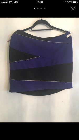 River Island Mini Skirt Size 14/16