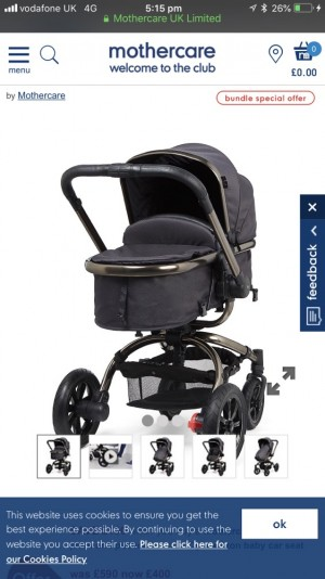 Mothercare buggy orb brand new in the box 2018 model 590 in the shop I'm sell it for 380£