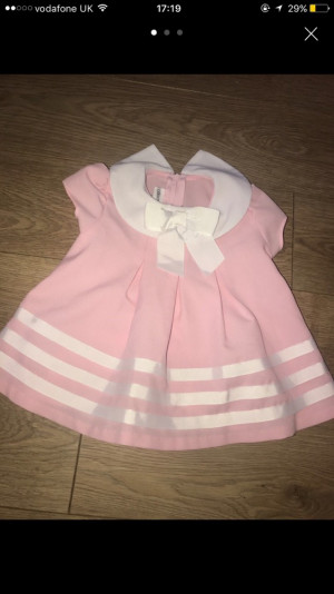 Baby girl Allison Ann dress 12 months