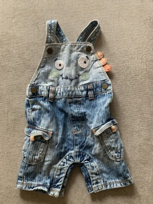 Boys Dungarees 3-6 Months