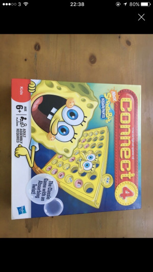 Spongebob Connect 4