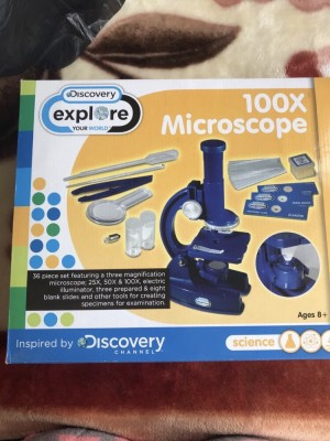 100X microscope ages 8+