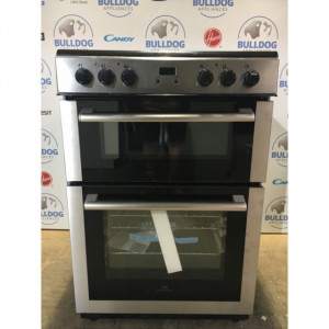 New World 60EDOMC Ceramic Electric Cooker with Double Oven- Stainless Steel £349