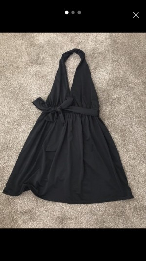 Dress, backless with plunge front - Size 10 (Boohoo, with labels still attached)