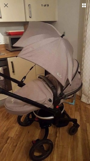 Silver Cross Surf pushchair/pram beige