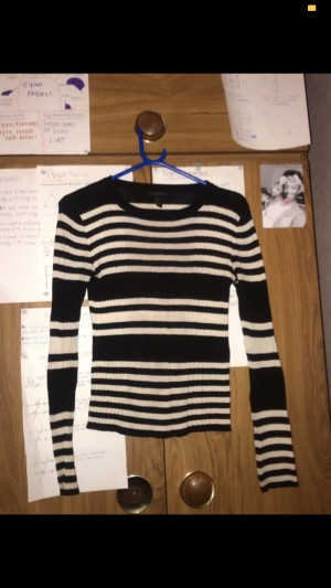 Black&White Stripy Top. Size 10