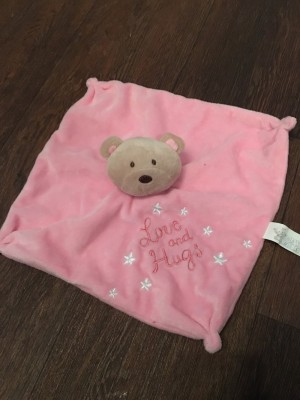 Girls love and hugs comforter