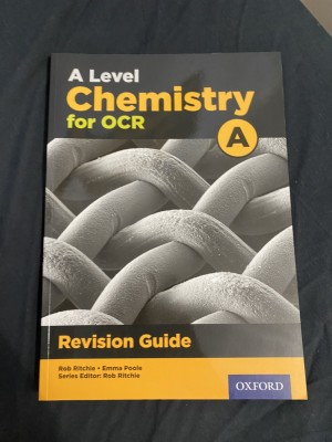 A level Chemistry A OCR revision guide