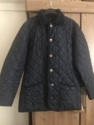 Man's quilted jacket coat size large Collection Nottingham