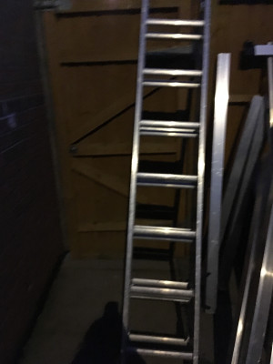 Ladders closed height 2.03 metres extended height 4.73 metres