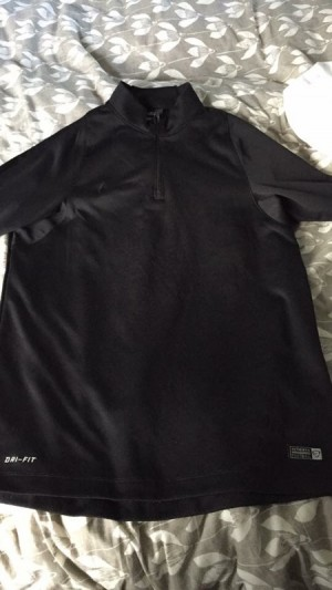 Nike football blackout top