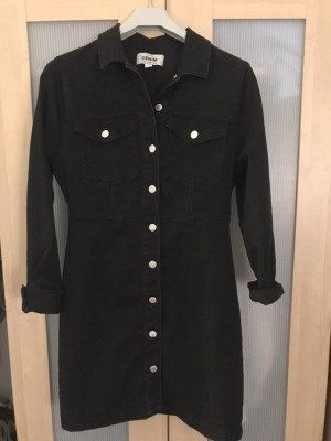 New Look Black Button dress size 10