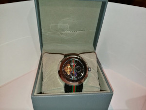 Gucci watch swiss edition £220