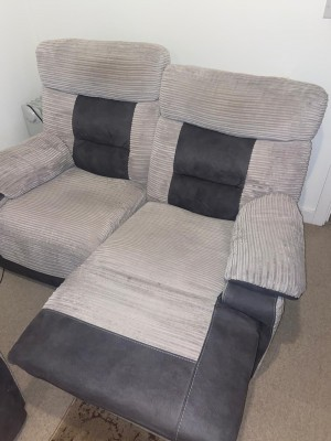 Seater Electrical Recliner Sofa.