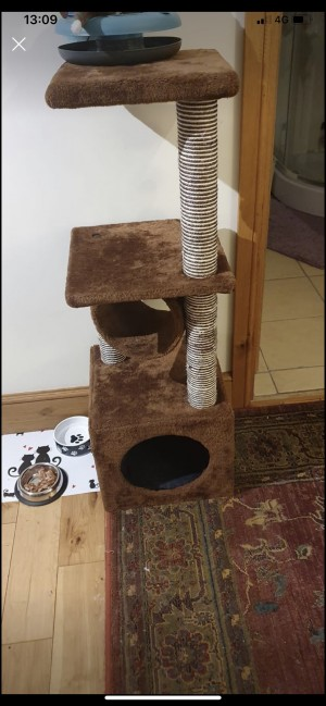 cat tree very good condition