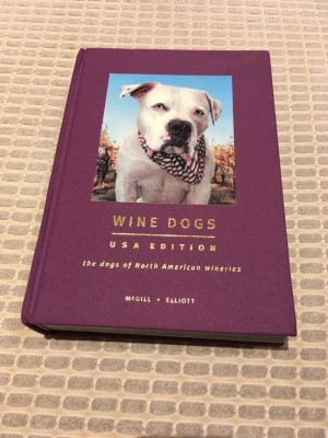 Wine Dogs collectible book