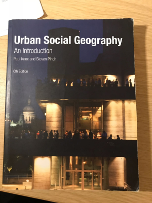Urban Social Geography textbook