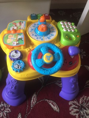 Vtech Purple Activity Table
