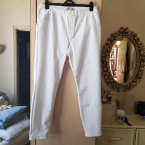 George White Jeggings Size 18