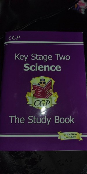 key stage two science study book