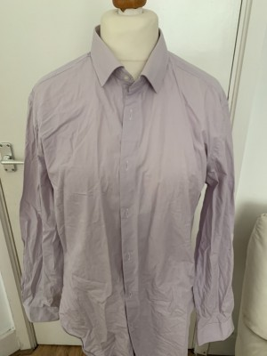 French Connection Men's Slim Fit Shirt Size 17