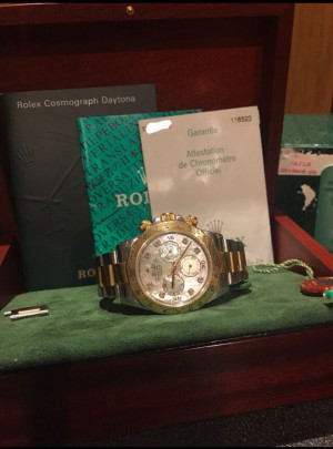 Rolex Daytona 116523 Mother Of Pearl Factory