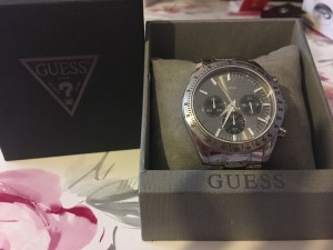 Genuine Guess mens watch £75