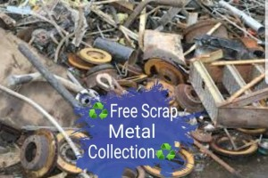 All aspects of scrap metal collected for free i.e. Washing machines,dishwashers,dryers,cookersold bikes,cars, batteries, all electrical items,boilers,radiators etc all metal taken.  Free and friendly serv
