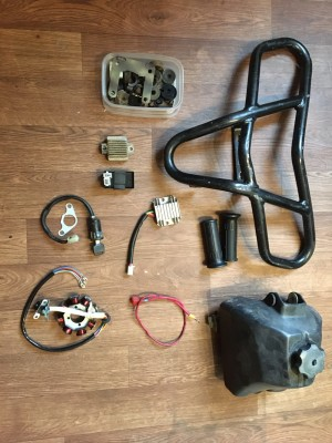 Quad and pit bike parts