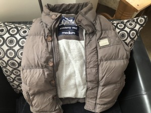 Superdry body warmer medium