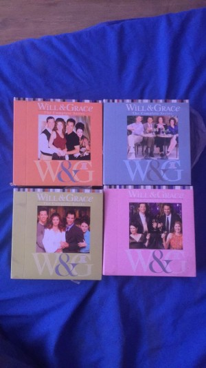 Will and Grace complete series 1-7 DVDs