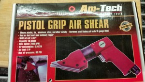 Am Tech Pistol Grip Air Shear